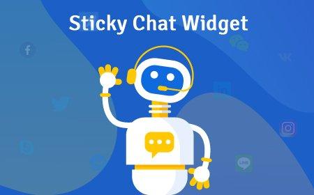 Sticky Chat Widget